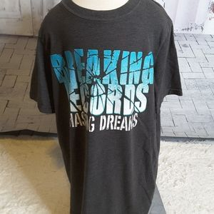 3/$15 Xersion Breaking Records Chasing Dreams tee